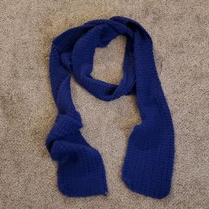 Hand-knit rectangle scarf
